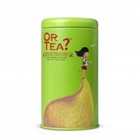 Cylinderdoos met losse groene thee BIO (75g)