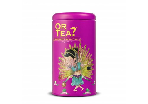 Or Tea? The Secret Life of Chai Zylinderpackung (100g)