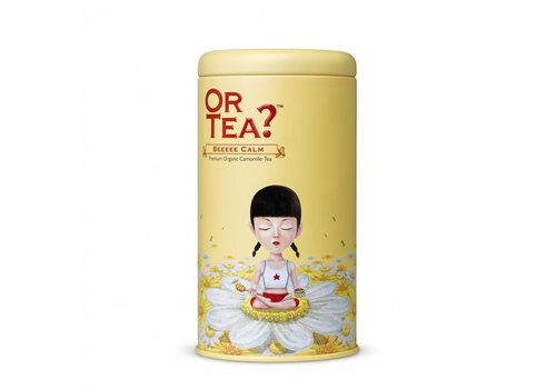 Or Tea? Beeeee Calm cylinderdoos (50g)