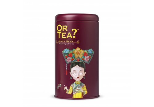 Or Tea? Queen Berry cylinderdoos (75g)