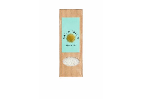 Sal de Ibiza Navulpak voor keramische pot Fleur de Sel (150g)