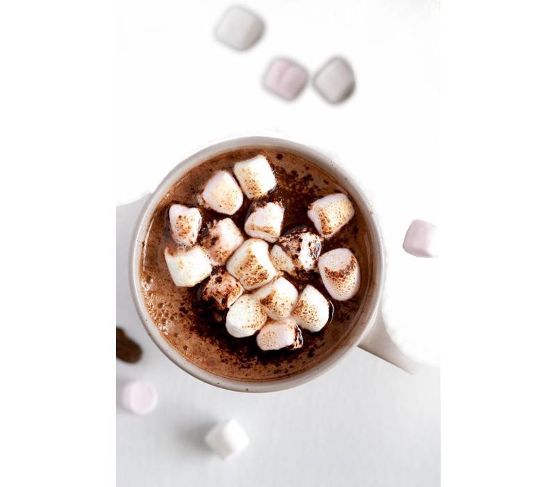 Warme vegan chocolade uit Londen met 70% cacao (350g)