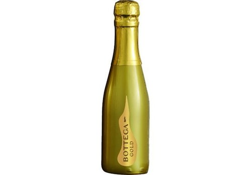 Bottega Mini prosecco flesje Venetian Gold (20cl)