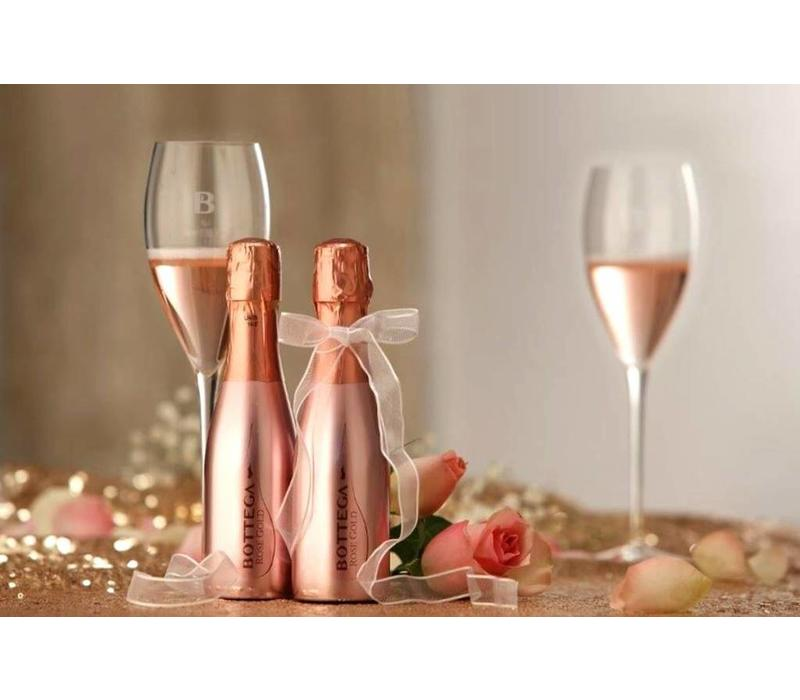 Mini prosecco flesje Rosé Gold (20cl)