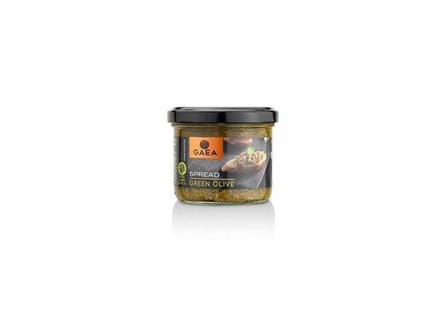 Gaea Tapenade van groene olijven (125ml)