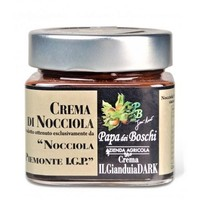 Hazelnootpasta I.G.P. (250g) - Dark chocolate (lactosevrij)