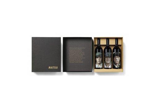 Matsu BIO dynamische Spaanse rode wijn (3 x 75cl) - Wijnkoffer
