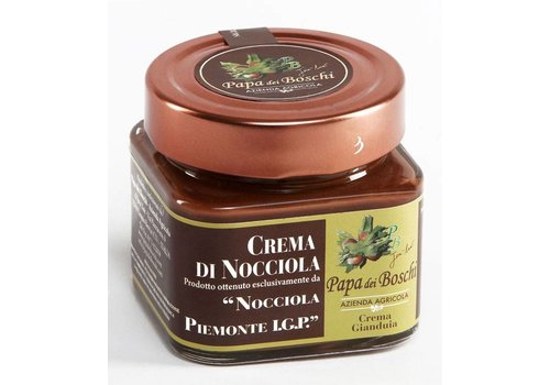 Papa dei Boschi Hazelnootpasta I.G.P. (250g) - Milk chocolate