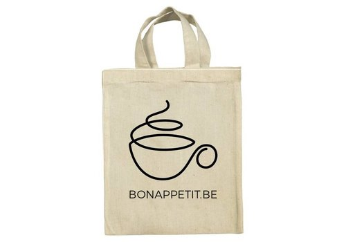 Mini tote 'Coffee'