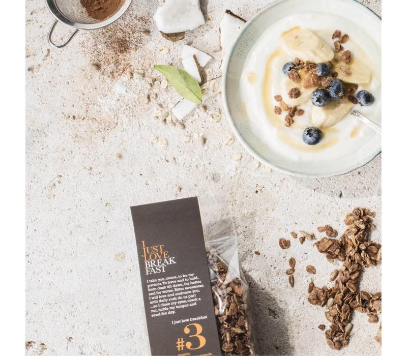 Handgemaakte BIO granola #3 Cacao (250g)