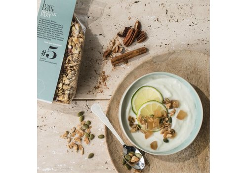 I Just Love Breakfast Granola #5 Pecan-Almond (250g)