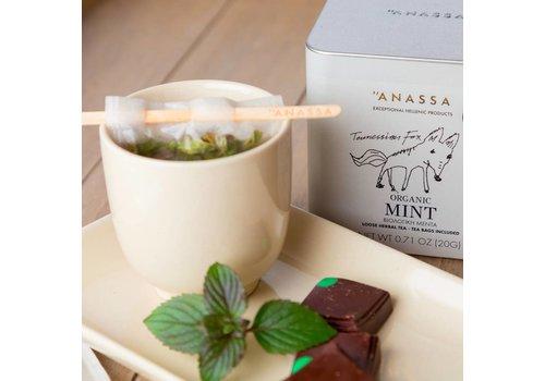 Anassa Griekse thee BIO Mint (20g)