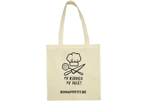 Bon Appetit Les Amis Tote bag uit BIO katoen