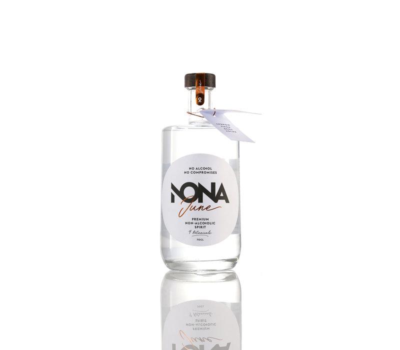 Belgische alcoholvrije spirit Nona June (70cl)