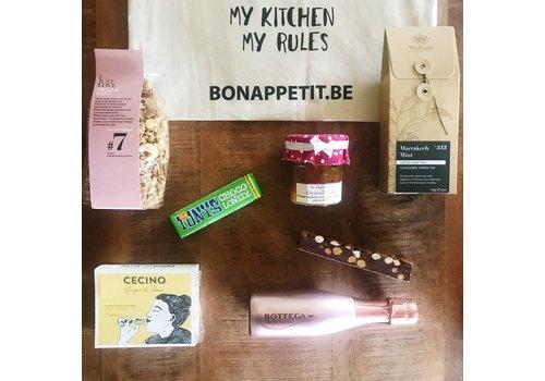 Bon Appetit Les Amis Giftbag 'The Sweetest Foodie'
