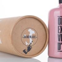 Terracotta kruik olijfolie (250ml) in cylinder verpakking
