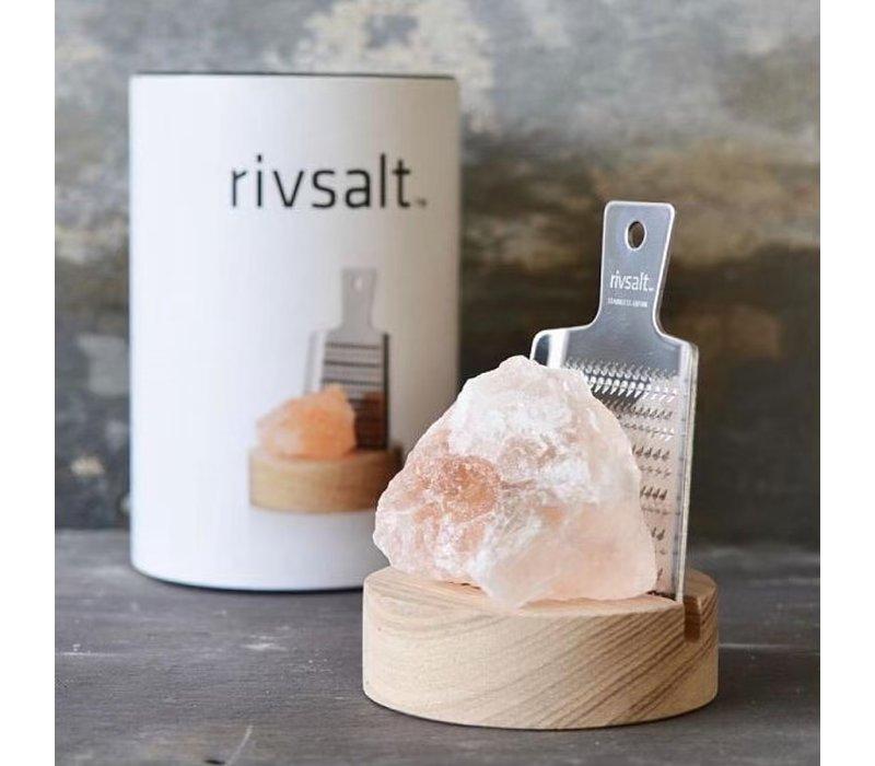 Himalaya-Salz mit Reibe