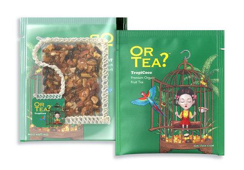 Or Tea? 15 Beuteln Aufguss aus Tropenfrüchten BIO (30g)