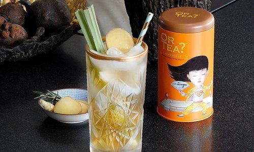 Recept voor een Ginger Iced Tea