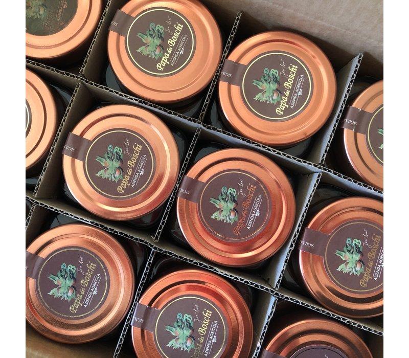Tray (12 x 250g) Hazelnusspaste I.G.P.  - Milchschokolade