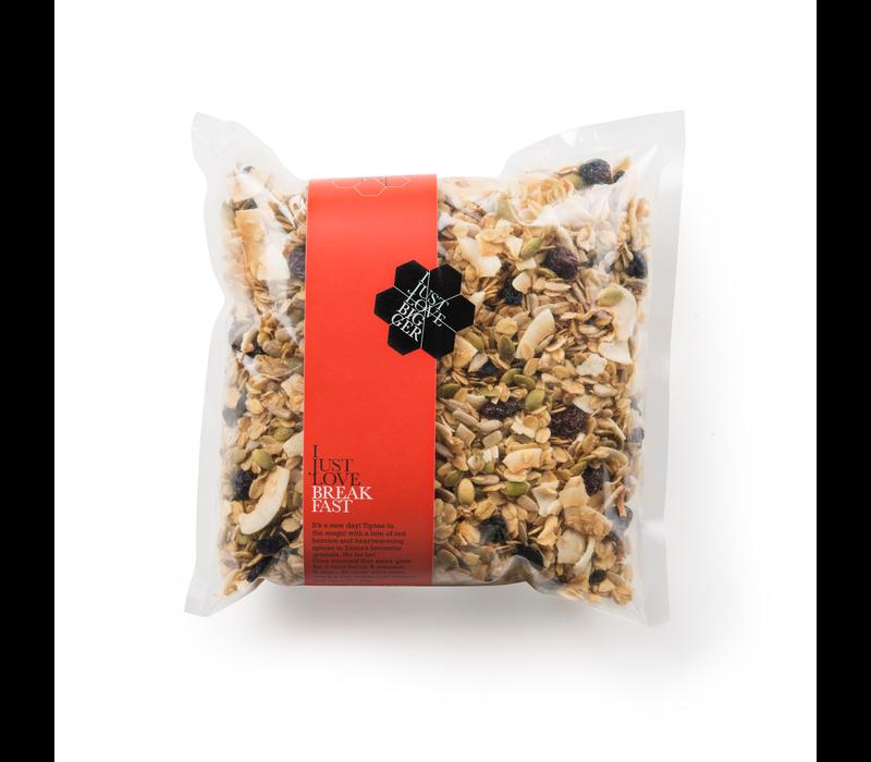 Handgemaakte BIO granola #X Christmas Fanbag (700g)