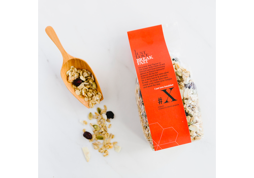 I Just Love Breakfast Granola #X Christmas (250g)