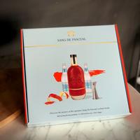Geschenkpakket met Belgische likeur van BIO bloedappelsien (500ml)