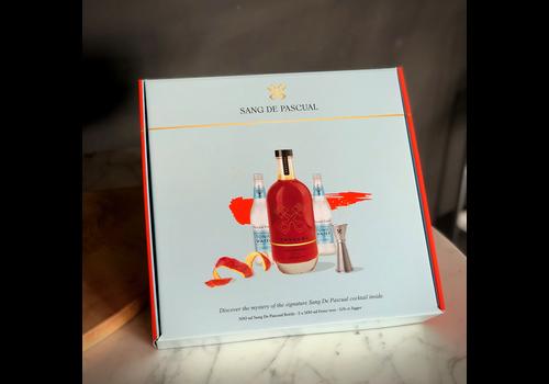 Sang De Pascual Geschenkpakket likeur van bloedappelsien (500ml)
