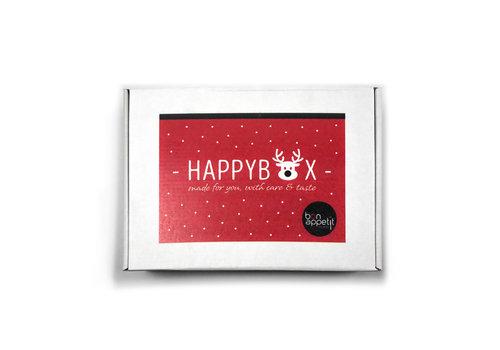 Geschenkbox Happy Box 'Rudolph'