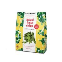 Langsam getrocknete Chips aus Grünkohl mit Zitronengras (30g)