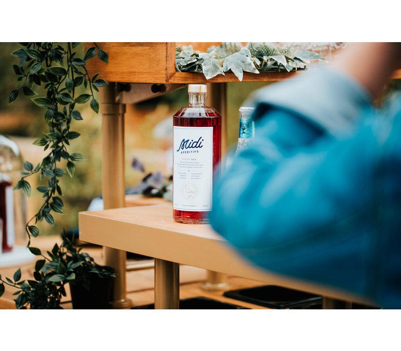 Geschenkverpakking Belgisch aperitief op basis van rosé (700ml)