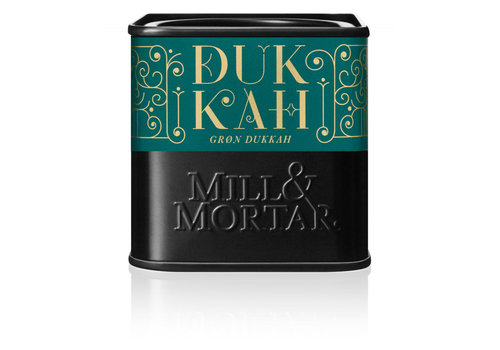 Mill and Mortar BIO groene Dukkah (75g)