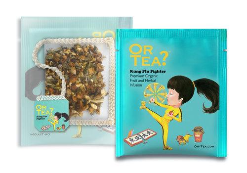 Or Tea? 10 zakjes  infusie gember en eucalyptus BIO (20g)