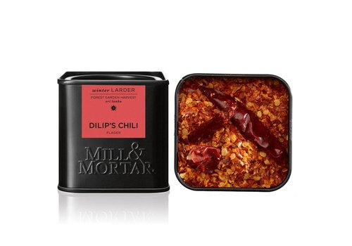 Mill and Mortar Dilip's BIO 100% Chili Flocken (45g)