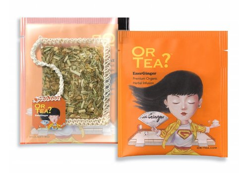 Or Tea? 10 zakjes gember infusie BIO (20g)