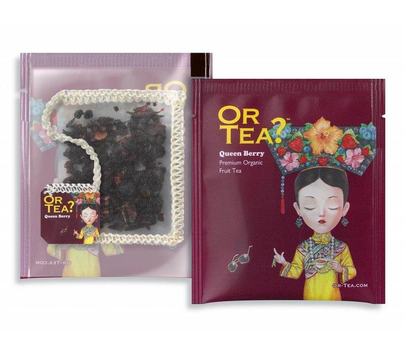 Doos met 10 zakjes Queen Berry bessen infusie BIO (25g)