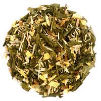 Doos met 10 zakjes groene thee met ginseng BIO (20g)