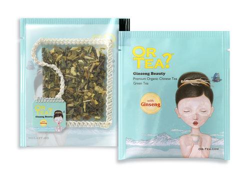 Or Tea? 10 zakjes groene thee met ginseng BIO (20g)