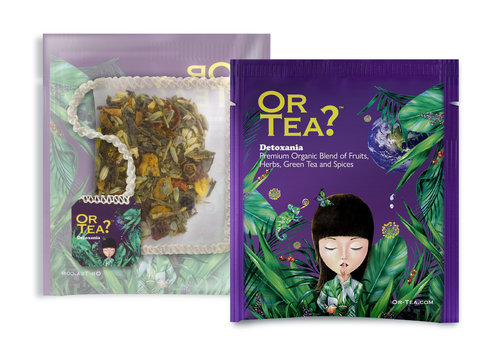 Or Tea? 10 zakjes groene thee met kurkuma BIO (25g)