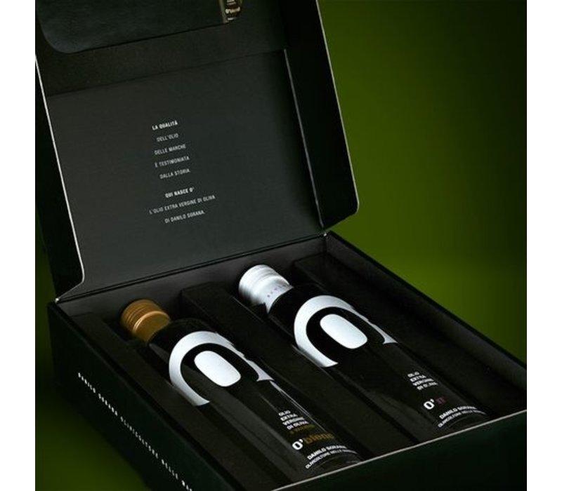 Geschenkpakket BIO Italiaanse olijfolie (2 x 50cl)