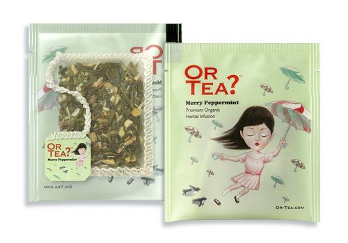 Or Tea? 10 zakjes pepermunt infusie BIO (20g)