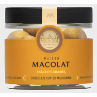 Chocolate coated Macadamia SALTED CARAMEL (100g)