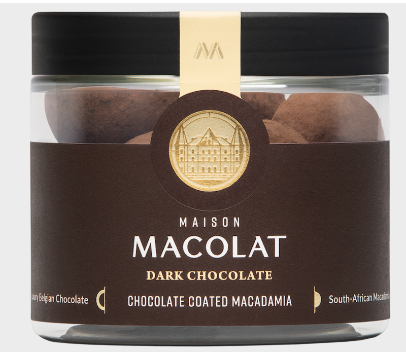 Chocolate coated Macadamia DARK (100g)