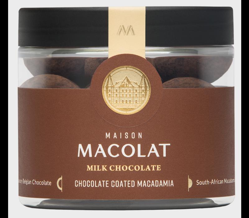 Chocolate coated Macadamia MILK (100g)