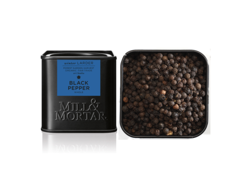 Mill and Mortar Zwarte peper BIO (50g)