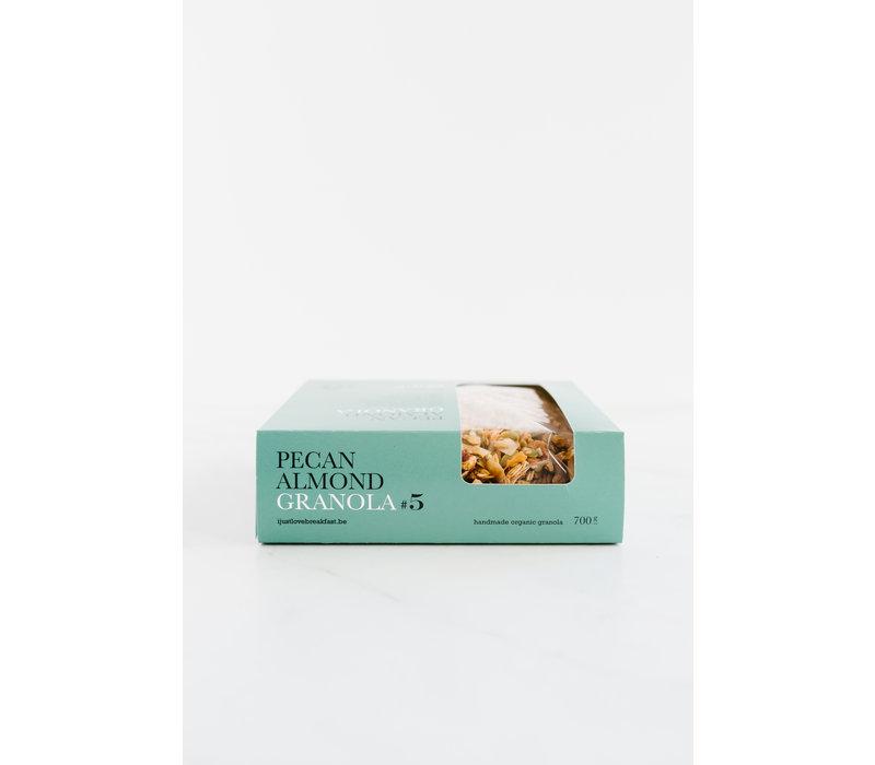 Handgemachtes BIO-Granola #5 Pecan-Almond Fanbox (700g)
