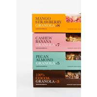 Handgemaakte BIO granola #5 Pecan-Almond Fanbox (700g)