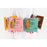 Handgemaakte BIO granola #7 Cashew-Banana Fanbox (700g)