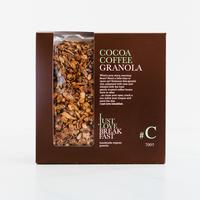 Handgemaakte BIO granola #C Cacao-Coffee Fanbox (700g)