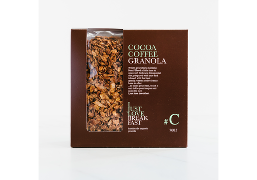 I Just Love Breakfast Fanbox granola #C Cacao-Coffee (700g)